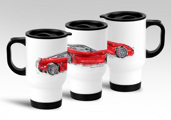Thermobecher Motiv: Ferrari 599 GTO - 2011