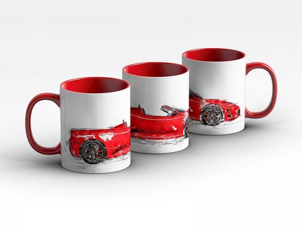 Tasse Motiv: Ferrari 16M Scuderia Spider - 2009 Kaffeebecher