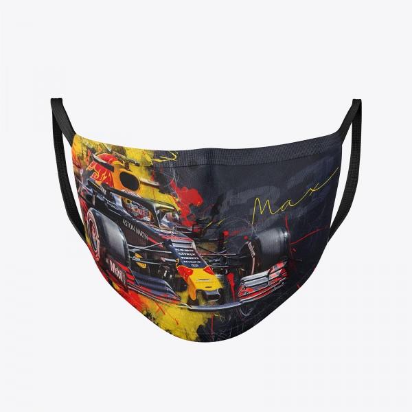 Community Maske | Max Verstappen | Behelfsmaske | waschbar | wiederverwendbar | Formel1 Mundschutz |