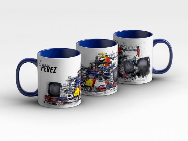 Tasse Motiv: Formel1 Sergio Perez - Red Bull Racing - 2021 - Collectors Edition - Kaffeebecher