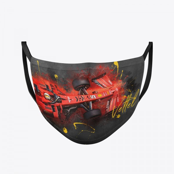 Community Mask washable | Sebastian Vettel | Temporary mask reusable | Formula 1