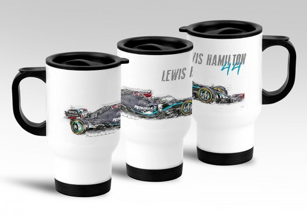 Thermobecher - Formel 1 - Lewis Hamilton - Mercedes AMG Petronas Motorsport - 2020