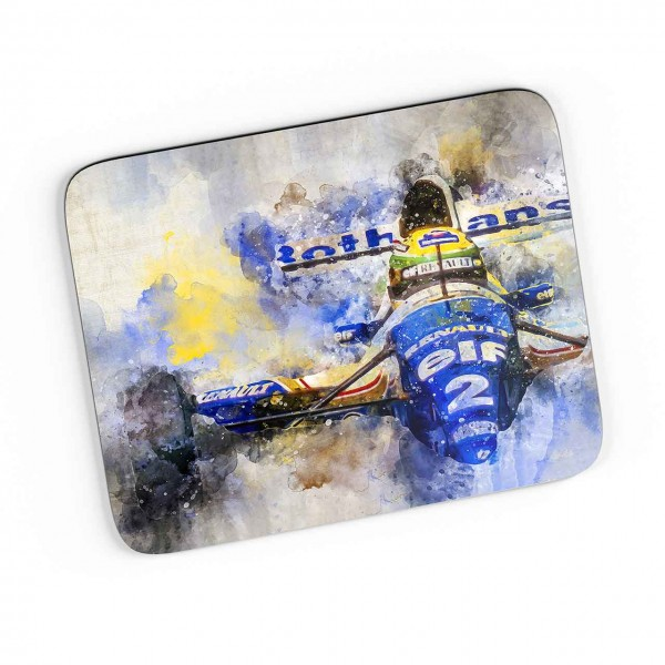 Artwork Mousepad Motiv: Ayrton Senna - Williams Renault - 1994