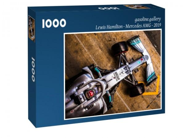 Puzzle Lewis Hamilton - Mercedes AMG - Barcelona 2019 - Formel 1