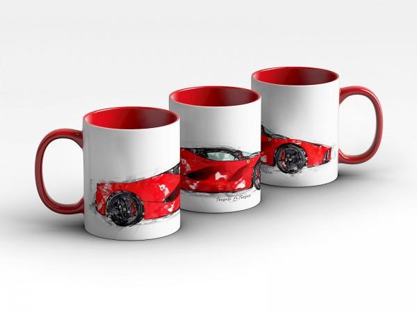 Tasse Motiv: Ferrari LaFerrari - 2014 Kaffeebecher