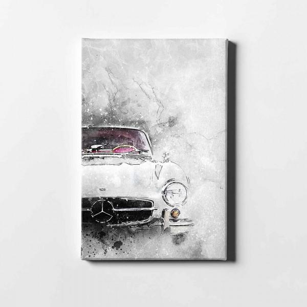 Artwork canvas print Mercedes-Benz 300SL