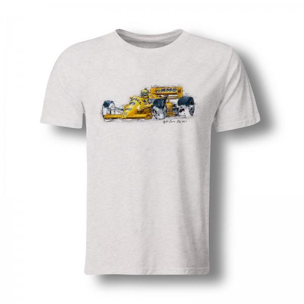 T-Shirt Motiv: Formel1 - Ayrton Senna - Lotus - 1987