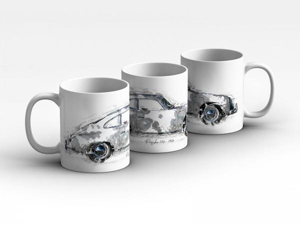 Tasse Motiv: Porsche 356 - 1956 Kaffeebecher