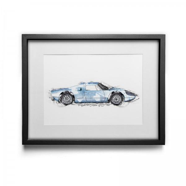 Kunstdruck gerahmt - Porsche 904 Carrera GTS - 1965