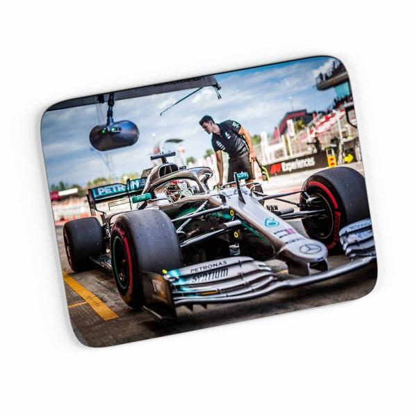 Artwork Mousepad Lewis Hamilton - Mercesdes - 2019