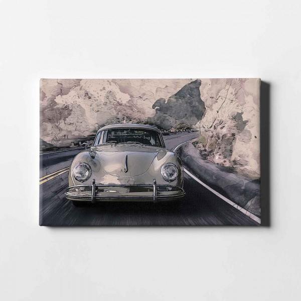 Artwork Leinwanddruck Porsche 356