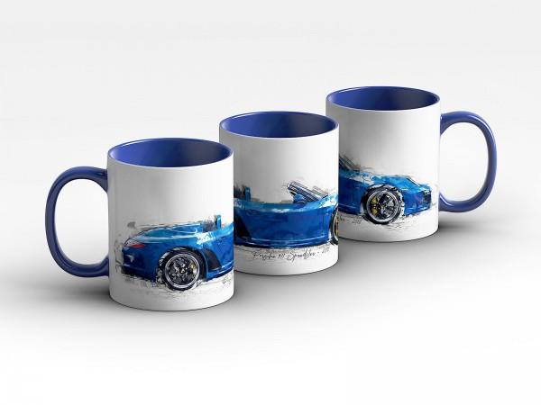 Tasse - Porsche 911 Speedster - 2010 Kaffeebecher