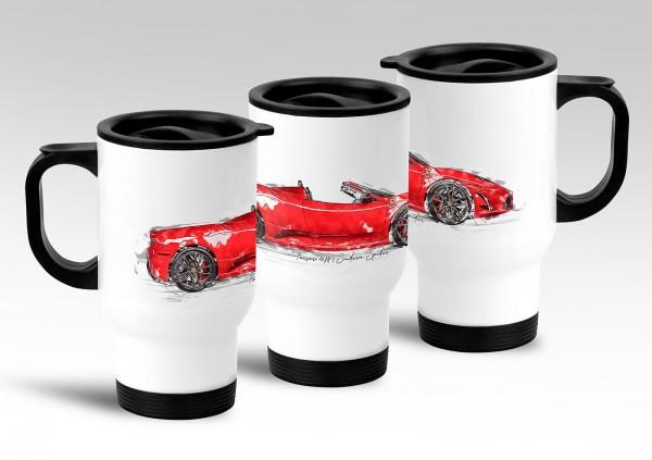 Thermobecher Motiv: Ferrari 16M Scuderia Spider - 2009