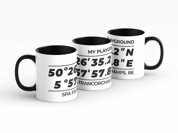Mug - My Playground - Spa-Francorchamps