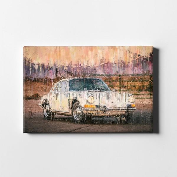 Artwork canvas print - Porsche 912 - 1969