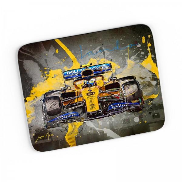 Artwork Mousepad - Lando Norris - McLaren F1 Team