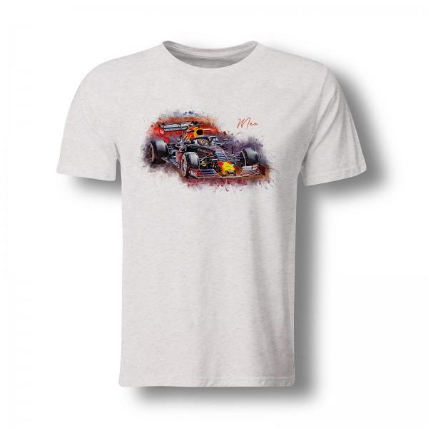 T-Shirt Motiv: Formel 1 - Max Verstappen - Red Bull - 2019
