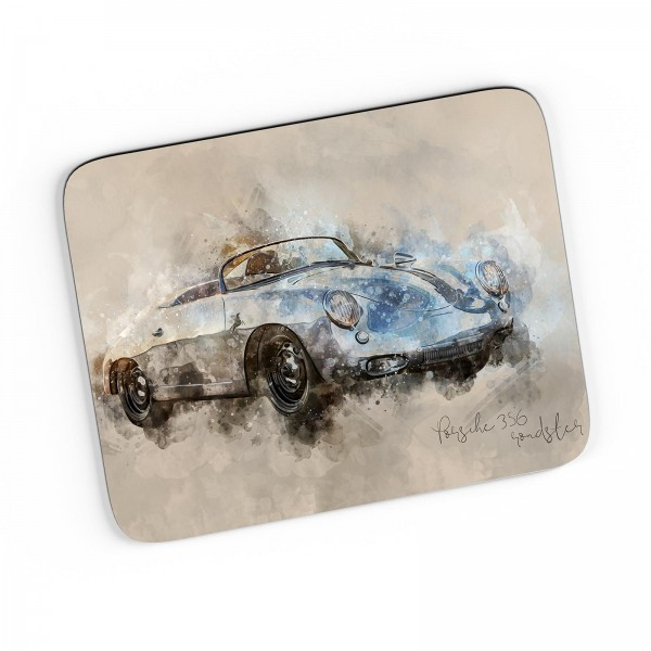Artwork Mousepad Motiv: Porsche 356 roadster 1963