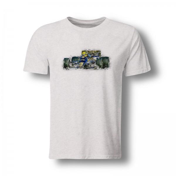 T-Shirt Motiv: Formel1 - Ayrton Senna - Lotus 1985