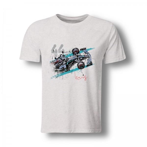 T-Shirt Motiv: Formel 1 - Lewis Hamilton - Saison 2020