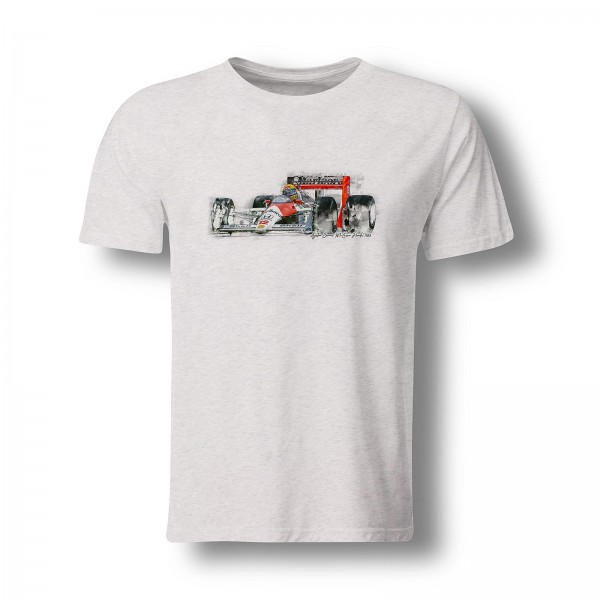 T-Shirt Motiv: Formel1 - Ayrton Senna - McLaren Honda - 1988