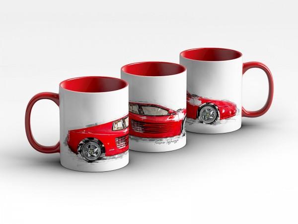 Tasse Motiv: Ferrari F512 M - 1995 Kaffeebecher