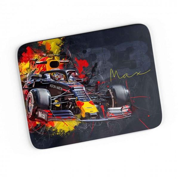 Artwork Mousepad Motiv: Max Verstappen - Aston Martin - Red Bull - 2019