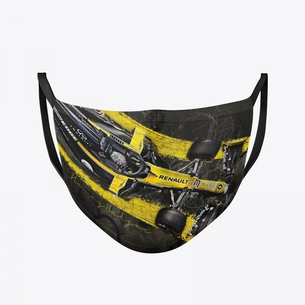 Community Maske | Daniel Ricciardo | Behelfsmaske | waschbar | wiederverwendbar | Formel1 Mundschutz | Mund- Nasenschutz | Mund-Nasen-Maske