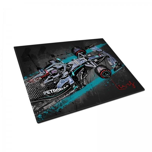 Formel 1 Schneidebrett Artwork Lewis Hamilton - Saison 2020