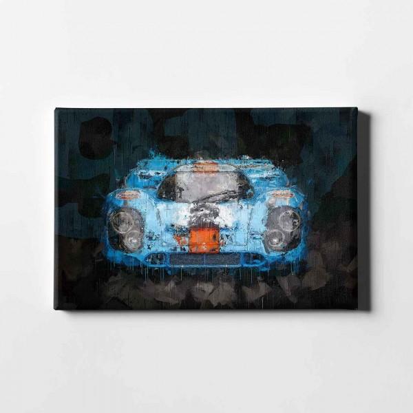 Artwork Leinwanddruck Motiv: Porsche 917