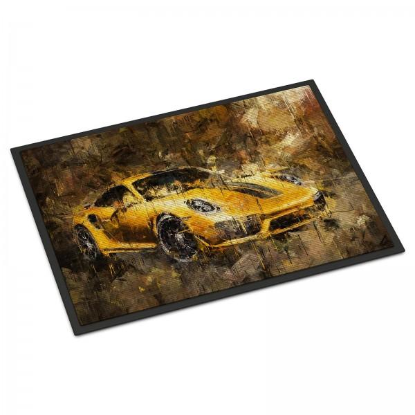 Door Mat Artwork Porsche 911 Turbo S exclusive series