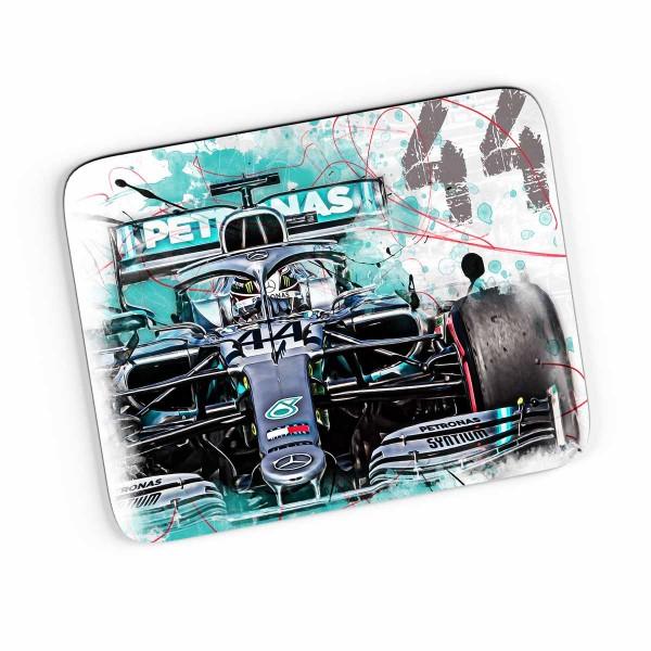 Artwork Mousepad Motiv: Lewis Hamilton - Mercesdes - 2019