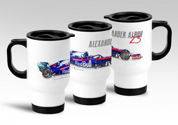 Thermo Mug - Alexander Albon - RB Toro Rosso Honda - Front