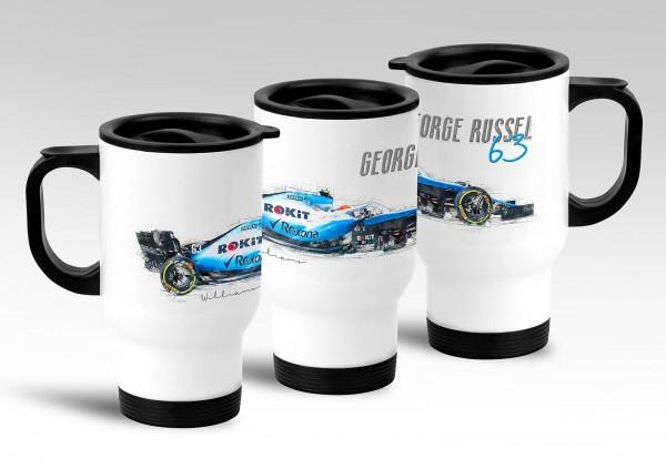 Thermobecher - Formel 1 - Georg Ruseel - ROKiT Williams Racing - 2019