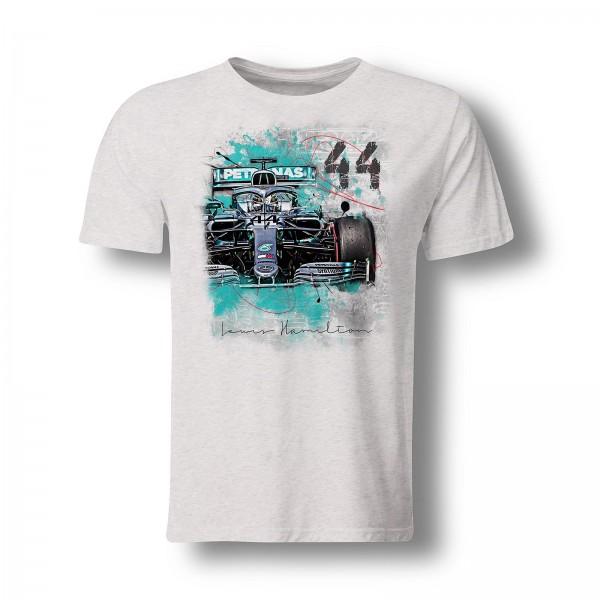T-Shirt Formel 1 - Lewis Hamilton - Front - 2019