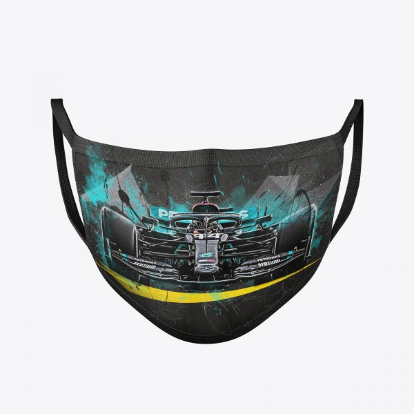 Community Maske waschbar | Lewis Hamilton Behelfsmaske | wiederverwendbar | Formel1 Mundschutz | Mun