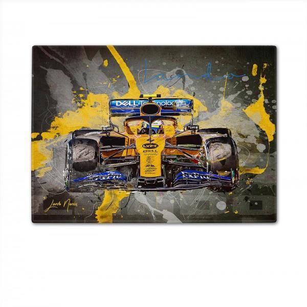 Formula 1 - Artwork cutting board - Lando Norris - McLaren F1 Team