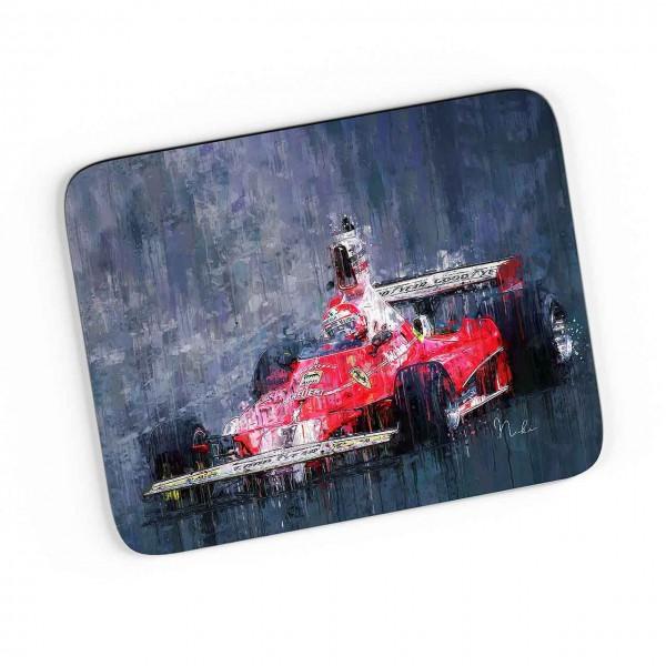Artwork Mousepad Motiv: Niki Lauda - Ferrari - 1975