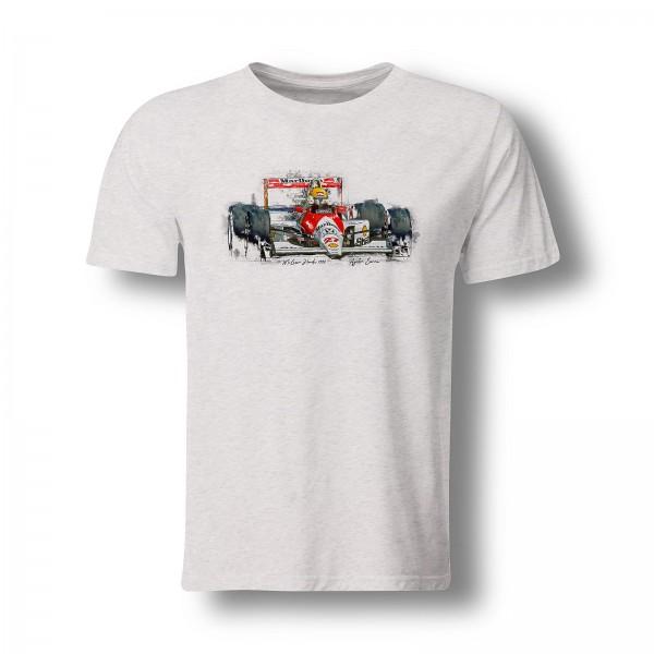 T-Shirt Motiv: Formel1 - Ayrton Senna - McLaren Honda - 1990