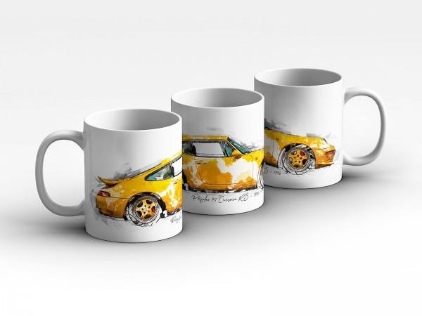Tasse Motiv: Porsche 911 Carrera RS - 1996 Kaffeebecher