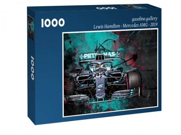 Puzzle Lewis Hamilton - Mercedes AMG - 2019 - Formel 1
