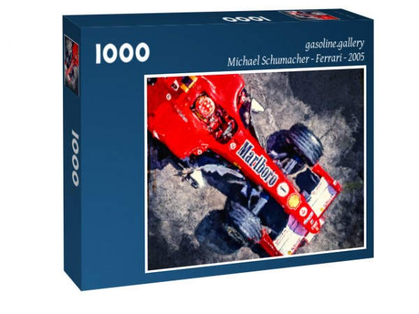 Puzzle Motiv: Michael Schumacher - Ferrari - 2005