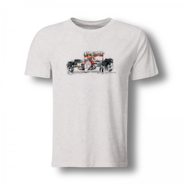 T-Shirt Formel1 - Ayrton Senna - McLaren Honda - 1991