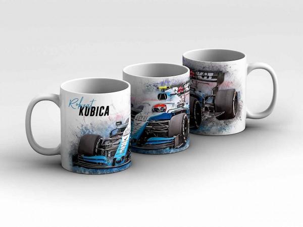 Tasse Motiv: Formel1 Robert Kubica - Rokit Williams Racing - Front Kaffeebecher