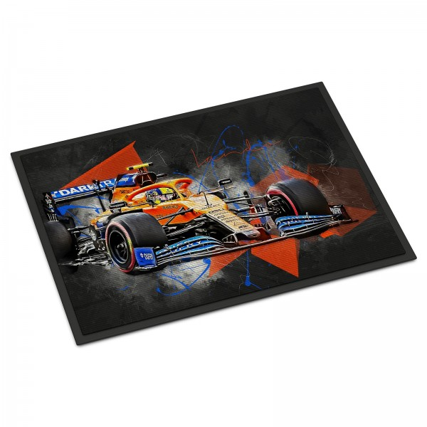 Formel 1 Fussmatte - Artwork Lando Norris - 2020