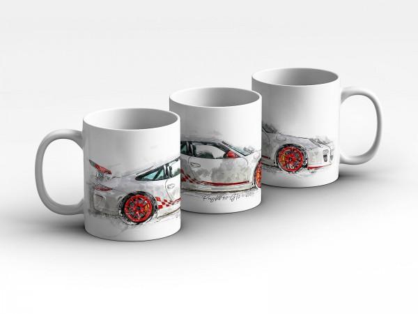 Tasse Motiv: Porsche Porsche 911 GT3 - 2010 Kaffeebecher