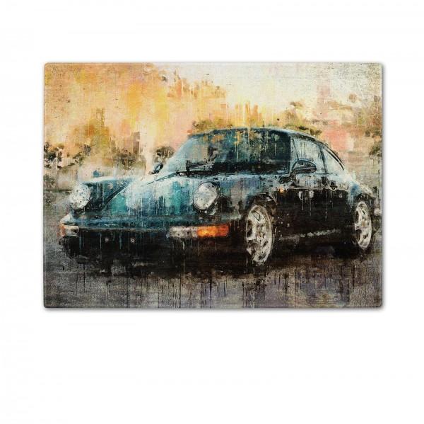 Schneidebrett Artwork Motiv: Porsche 911 Carrera RS - 1992