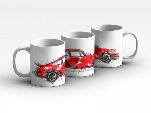 Tasse Motiv: Porsche Carrera Turbo - 1977 Kaffeebecher