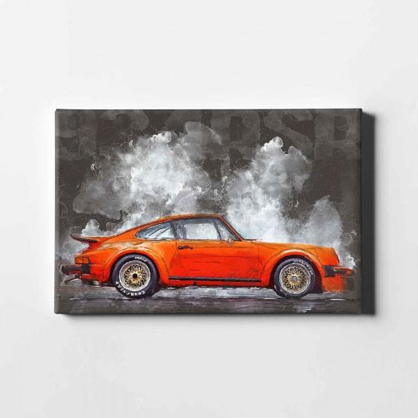 Artwork Leinwanddruck Motiv: Porsche 934 RSR - 1974