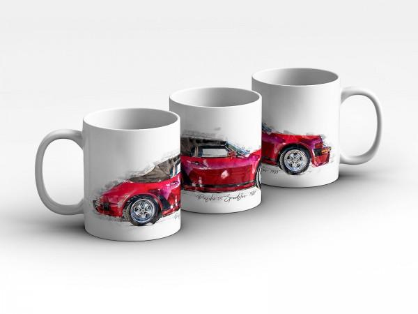 Tasse Motiv: Porsche 911 Speedster - 1989 Kaffeebecher